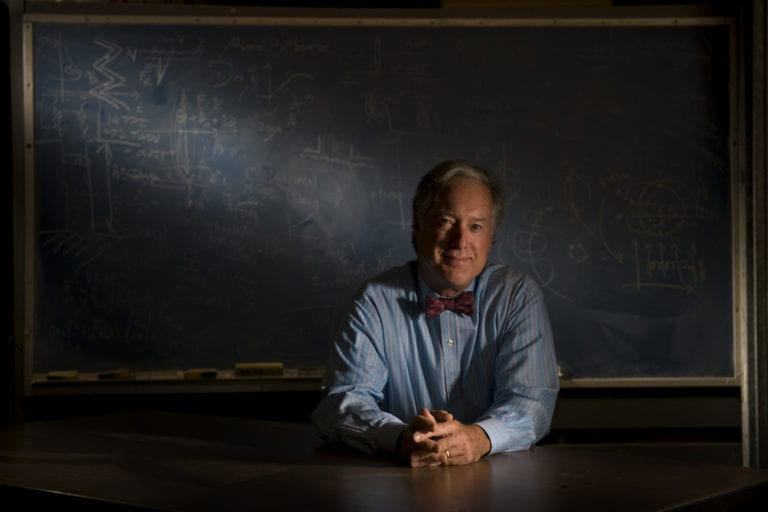 Old-fashioned physicist invents futuristic tools