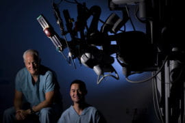 Robots redefining cancer surgery