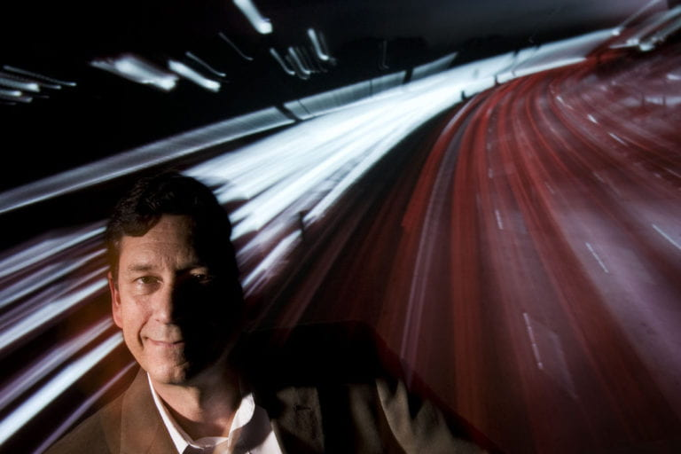 Driving research on traffic pollution