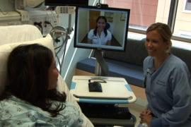 Hospital tests video translation service