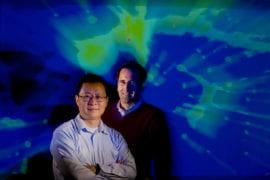 Taotao Fang and Co-author David Buote