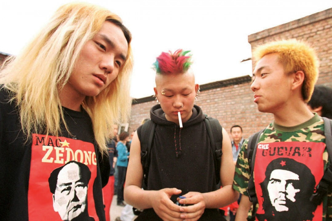 Chinese rock 'n' roll loving youth