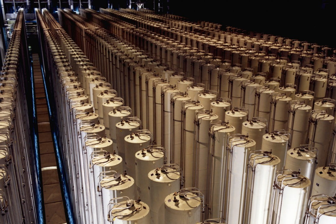 Gas centrifuge plant