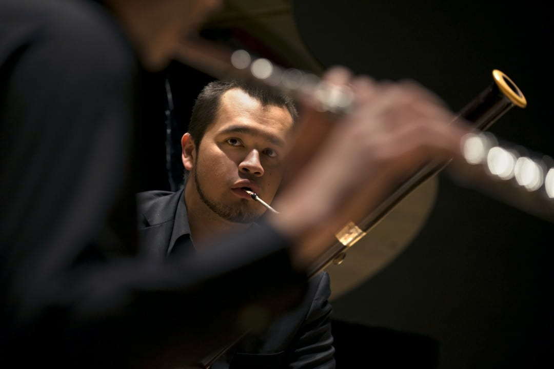 Bassoonist Alex Rosales