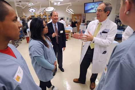 Medical school dean's singular focus: healing