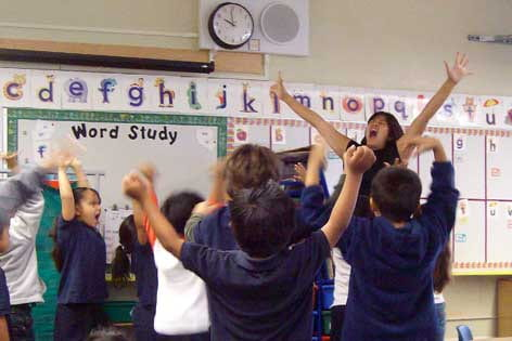 Dance, drama helps students build language skills