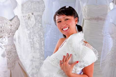 From breast cancer patient to bride