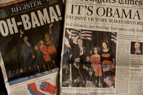 Race colors public opinion of Obama