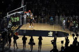 UCI men's basketball player Derrick Strings
