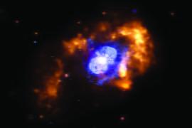 Eta Carinae, a star in the Milky Way galaxy