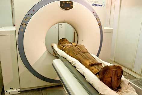The mummy's curse: hardened arteries