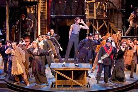 """""""The Threepenny Opera"""" cast"""
