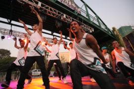 UCI's Common Ground hip-hop dance team