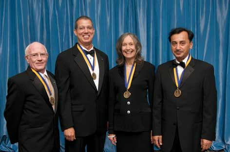Honorees at the 2009 UC Irvine Medal awards