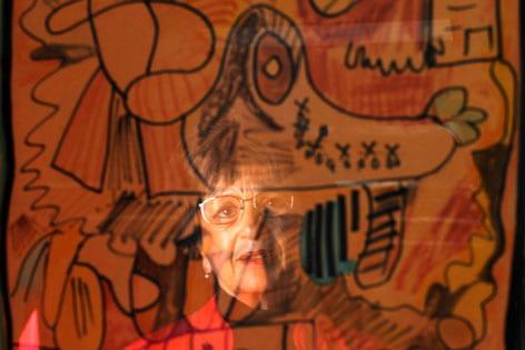 Alzheimer's art creates lasting memories
