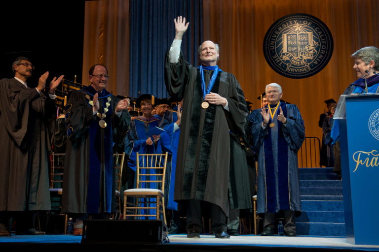 Gillman invested as UCI's sixth chancellor