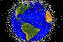 Researchers propose zapping space debris with laser