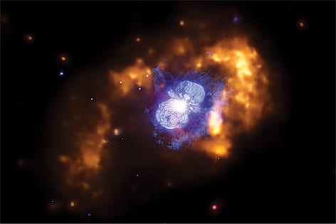 Giant supernovae farthest ever detected