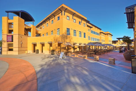 Student Center design turns green to gold