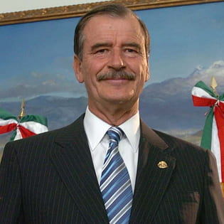 Vicente Fox talks democracy, Mexico at UCI