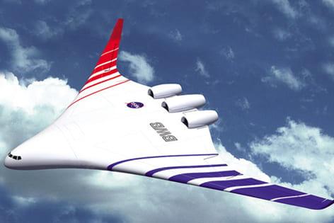 Futuristic air travel
