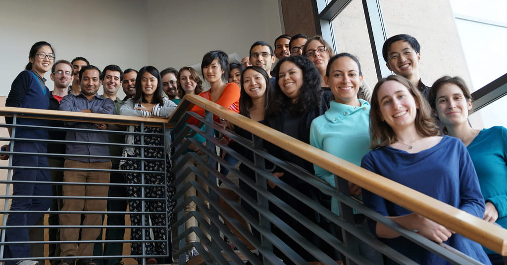 Students with UCI's Data Science Initiative