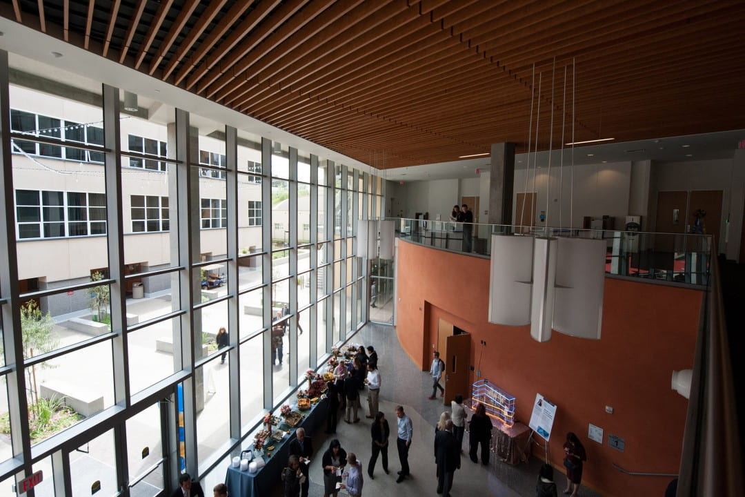 Hundreds of people attended this month's grand opening of The Paul Merage School of Business' new building