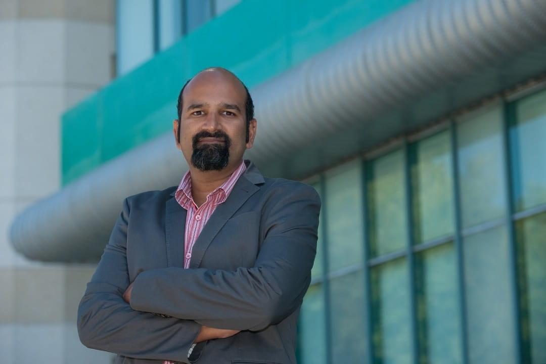UCI neurobiologist Sunil Gandhi