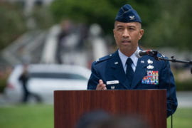 Retired Air Force Col. Henry Pandes