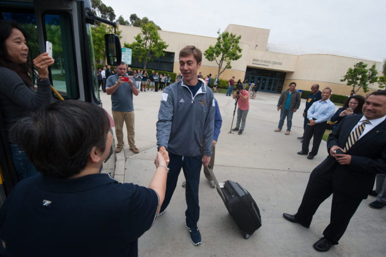 UCI men's volleyball head coach, 3 players to have big roles at World University Games in South Korea