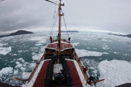 Greenland's fjords are far deeper than previously thought, and glaciers will melt faster, researchers find