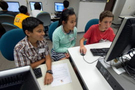 Teens tackle world dilemmas in UCI's summer APPcamp