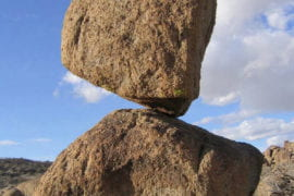 Precariously balanced rocks provide clues for unearthing underground fault connections