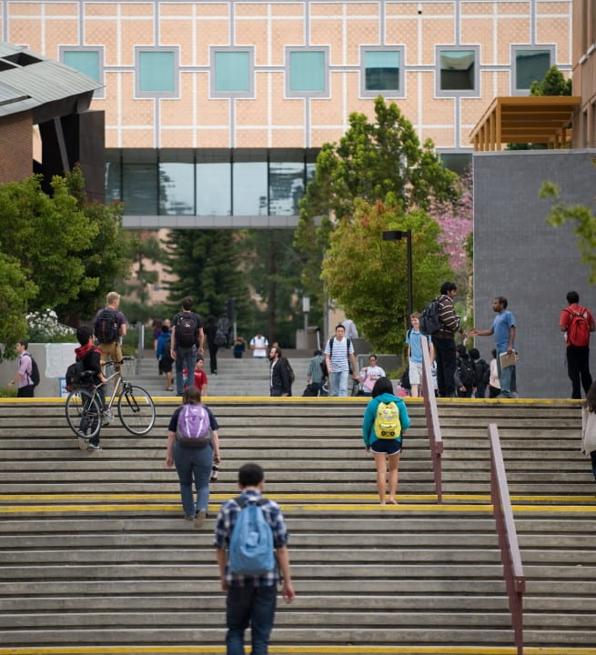 UCI has been ranked ninth among public universities nationwide in U.S. News & World Report's 2016 Best Colleges evaluation.  Steve Zylius / UCI