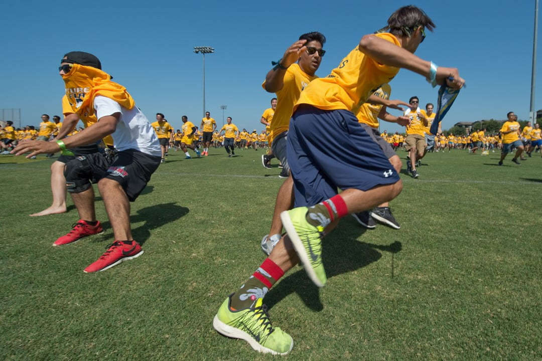 On Tuesday, UCI students set a Guinness world record for the largest game of capture the flag, with 2,888 players.