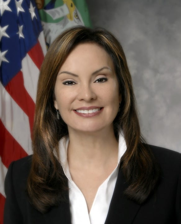 U.S. Treasurer Rosie Rios will speak at UCI on Oct. 29. Photo courtesy of the U.S. Department of the Treasury
