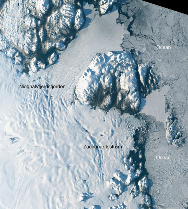 Massive northeast Greenland glacier is rapidly melting, UCI-led team finds