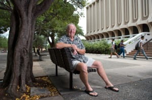 """Having an anteater as a mascot may seem like something frivolous, or even silly, but it was not,"" says Mike Grayston '69, a member of UCI's first four-year class. ""It was hotly debated. When people started to think about it, we were going to establish a brand-new university with its own culture. We were not going to be a Berkeley or UCLA knockoff; we were going to be UCI."" Steve Zylius / UCI"