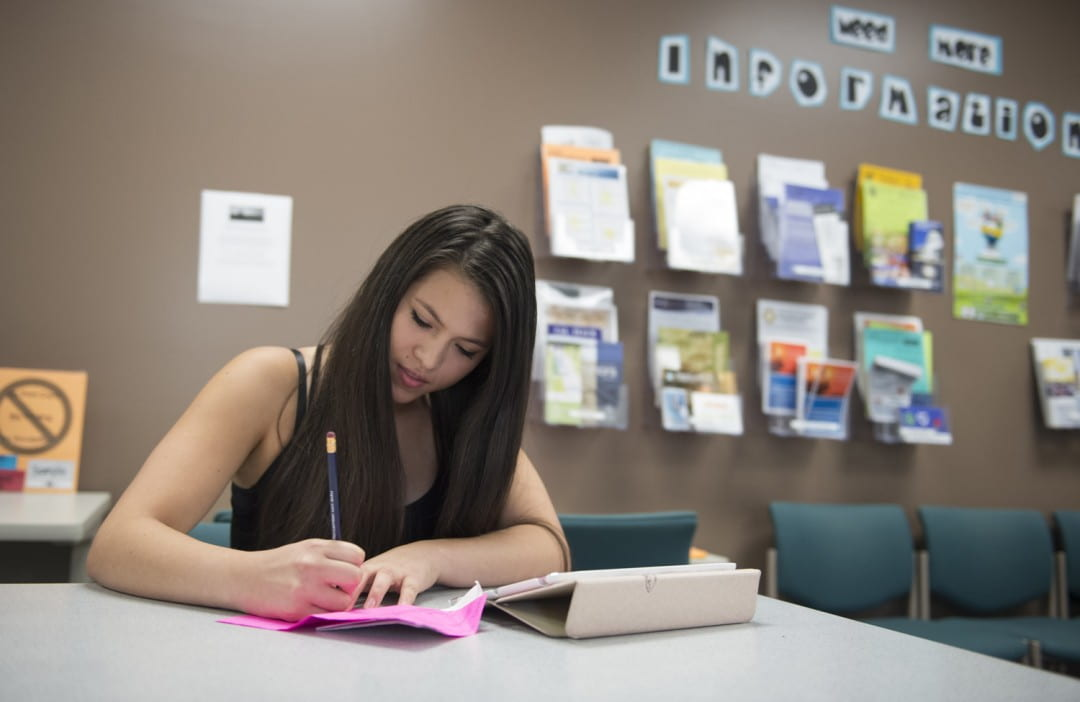 The federal Trio program helps UCI undergraduate Zuri Sandoval and other first-generation students get the most from their college education.  Chris Nugent / UCI