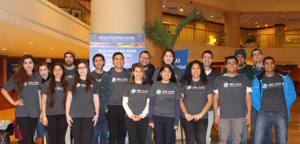 Four Minority Science Programs students snag awards for their research presentations at AAAS competition