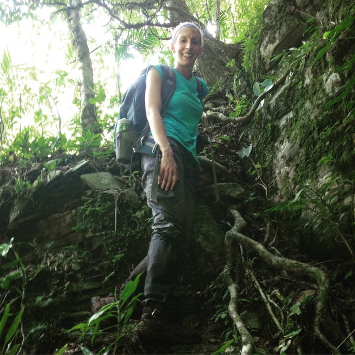 UCI graduate student Caitlin Looby is exploring the effects of global warming on the soil fungi communities of a mountain cloud forest in Monteverde, Costa Rica. UCI