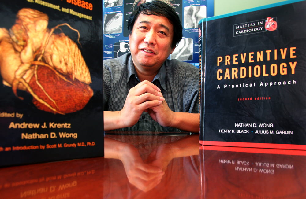 The author of several textbooks on preventive cardiology, Nathan D. Wong, directs the Heart Disease Prevention Program at UCI.  Daniel A. Anderson / UCI