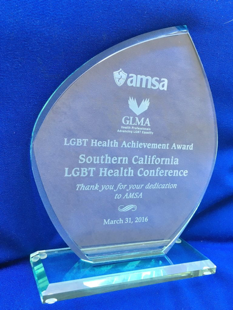 Medical students honored for hosting LGBT conference