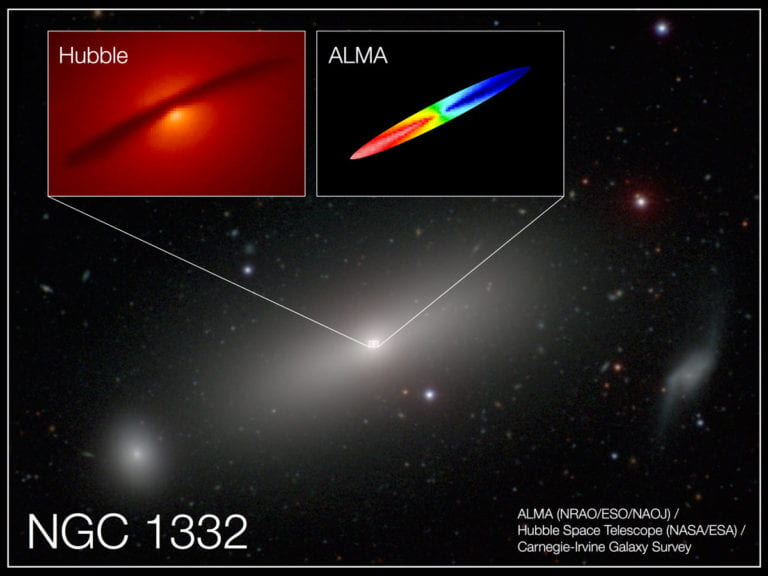 UCI astronomers determine precise mass of a giant black hole