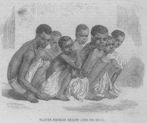 About 25 percent of the African slaves who arrived in the New World between the 16th and 19th centuries soon boarded other ships for distribution throughout slave trade routes within the Americas.