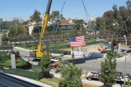 Walk this way: New pedestrian bridge to connect campus community