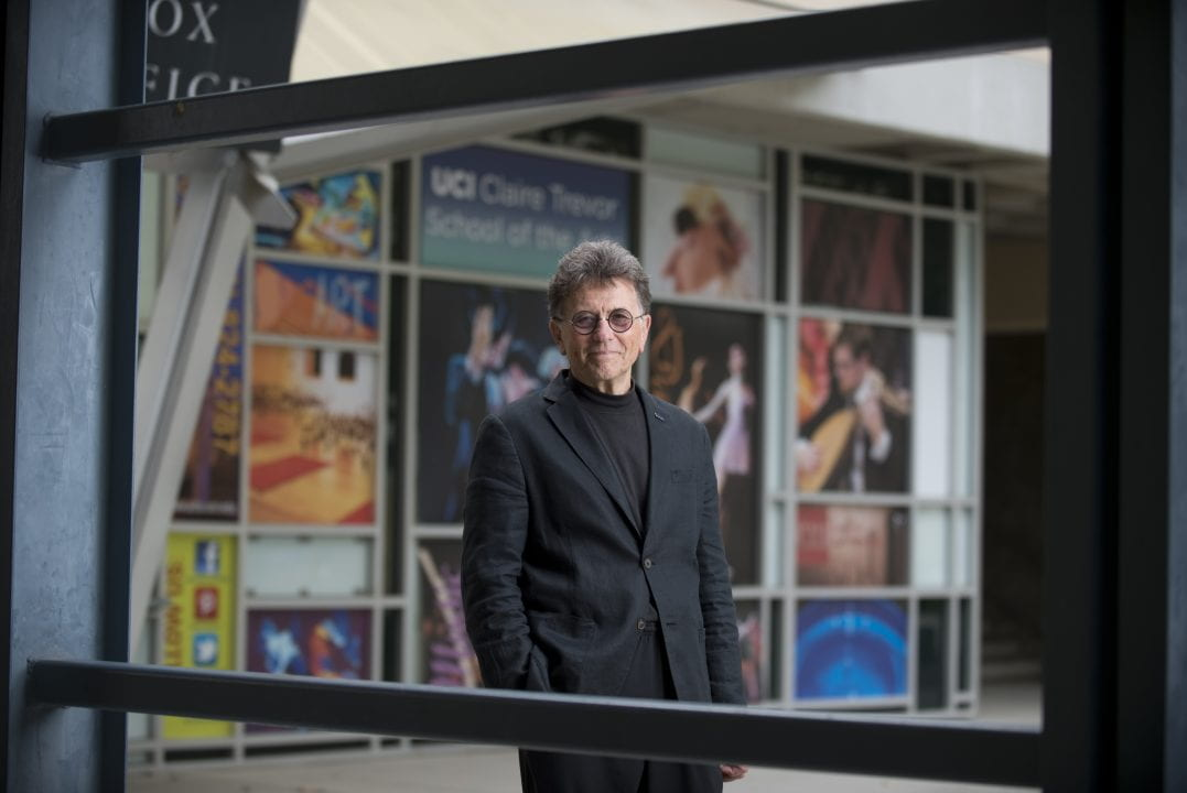 New UCI arts dean Stephen Barker, a renowned scholar, actor, director, dancer and choreographer, has served as interim dean since September 2014.  Steve Zylius / UCI