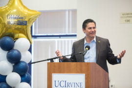 Alum to helm higher ed system