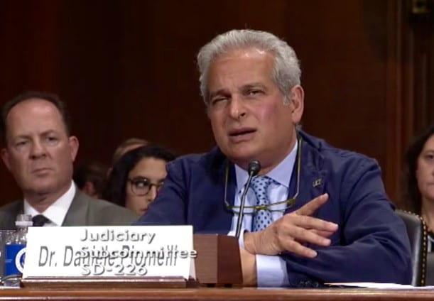 Piomelli speaks before Senate subcommittee about medical benefits, risks of marijuana