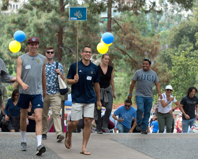 UCI is named a platinum-level Fit-Friendly Worksite for sixth year in a row